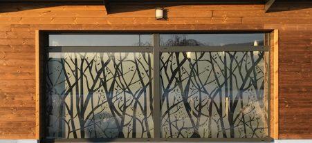Adhésif dépoli pour le décor de vos vitrines