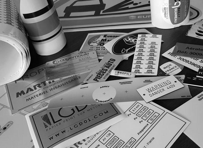 Identification machines et produits