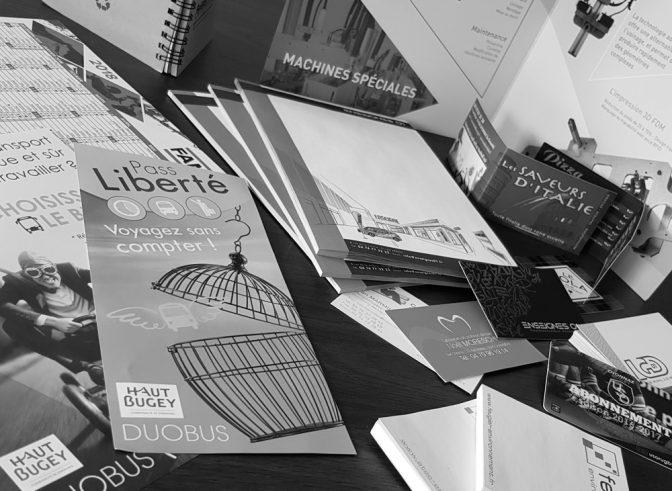 Travaux graphiques & impression numérique
