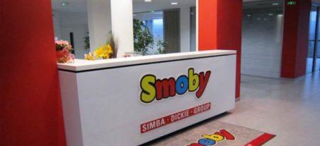 Décoration d'un comptoir pour SMOBY - Enseignes 01